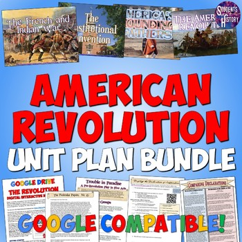 American Revolution Complete Unit Bundle