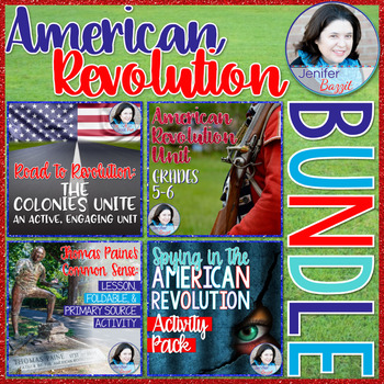American Revolution- An Active, Engaging Bundle