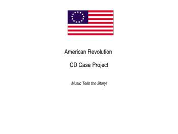 American Revolution CD Case Project