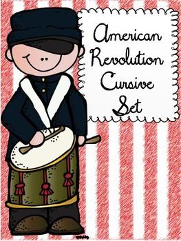 American Revolution Cursive Set