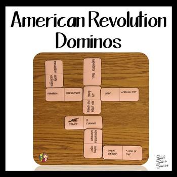 American Revolution Dominos