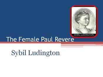 American Revolution ~ Female Paul Revere ~ Sybil Ludington