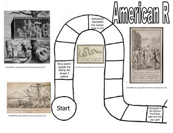 American Revolution Game- Questions about Building Tension