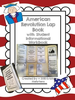 American Revolution Lapbook with an Informational Student