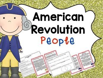 American Revolution People