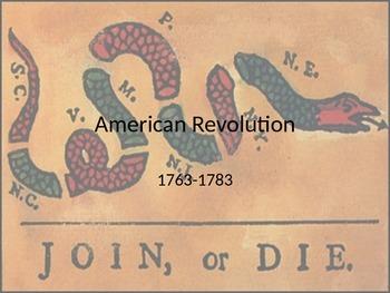 American Revolution Powerpoint
