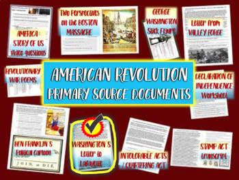 American Revolution Primary Source: George Washington Lett
