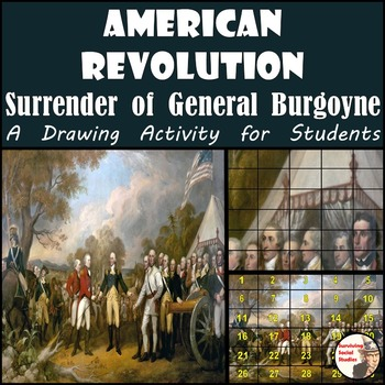 "American Revolution - Recreate the ""Surrender of General B"