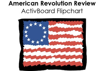 American Revolution Review Flipchart
