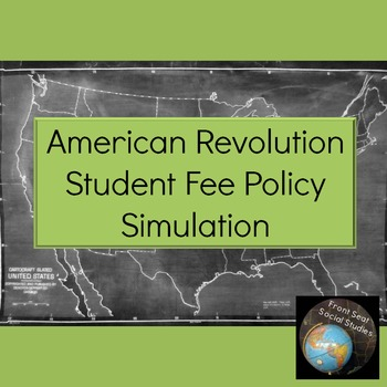 American Revolution Simulation: Student Fee Policy