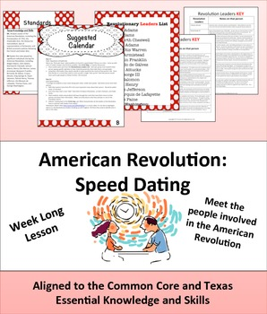 American Revolution: Speed Dating