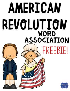 American Revolution Word Association