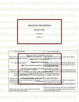 American Revolution loop game