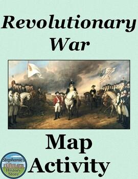 Revolutionary War Map Activity