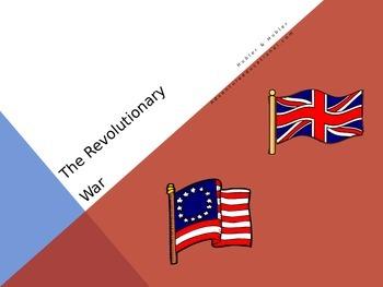 American Revolutionary War PowerPoint Interactive Slide Show
