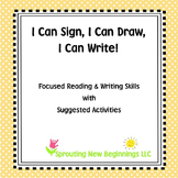American Sign Language (ASL) ~I Can Sign, I Can Draw, I Ca