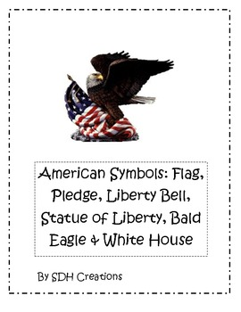 American Symbols: Book, Webs, Fact Sheets & Matching