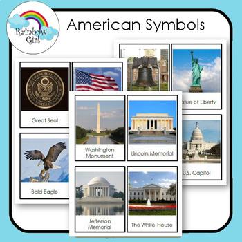 American Symbols Cards