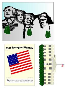 American Symbols Clip Art Combo Pack