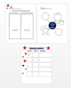 American Symbols Graphic Organizers!