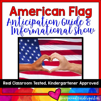 American Symbols! American Flag Anticipation Guide & AWESO