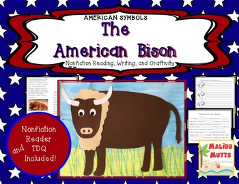 American Symbols-The American Bison-Non-Fiction Reader and