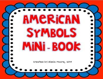 American Symbols and Figures Mini-Book