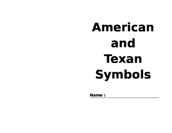 American and Texan Symbols