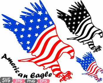 American flag svg Eagle Eagles independence day 4th of Jul