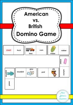 American vs. British Domino Game
