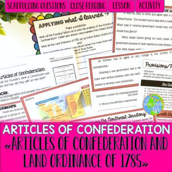 Articles of Confederation Northwest Territory & Land Ordin