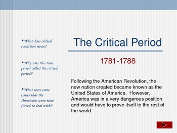 """America's """"First Government""""- The Articles of Confederation"""