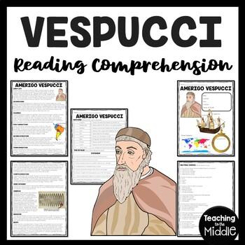 Amerigo Vespucci, Age of Exploration article, questions, S