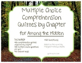 Among the Hidden Multiple Choice Comprehension Quizzes