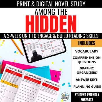 Among the Hidden Foldable Novel Study Unit