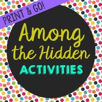 Among the Hidden by Margaret Peterson Haddix Book Companio