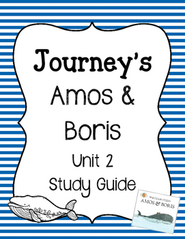 Amos and Boris - Vocabulary Study Guide