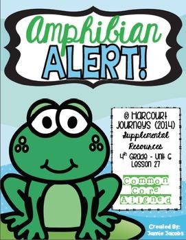 Amphibian Alert! (Journeys 4th Gr. - Supplemental Materials)