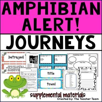 Amphibian Alert! Journeys Fourth Grade Supplemental Materials