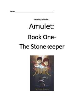 Amulet Book One Reading Guide
