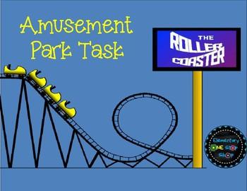 Amusement Park Task/Activity