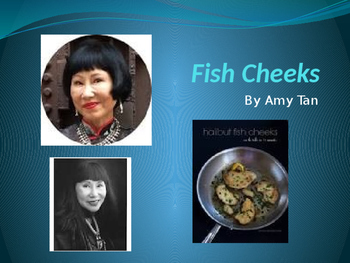 """Amy Tan: """"Fish Cheeks"""" Essential Journal Questions"""