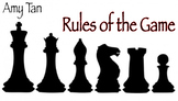 "Amy Tan's ""Rules of the Game"" Quiz (50 Multiple Choice Que"