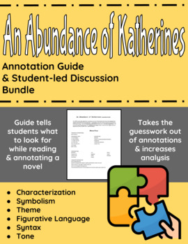 An Abundance of Katherines Annotation Guide and Student-le