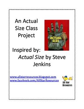 An Actual Size Measurement Class Project