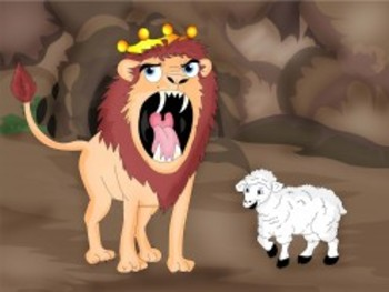 """An Aesop """"Head & Tales"""" Play:  The Lion & His Wise Advisers"""