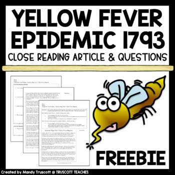 An American Plague (by Jim Murphy) Close Reading; Fever 17