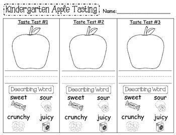 An Apple A Day-Apple Tasting