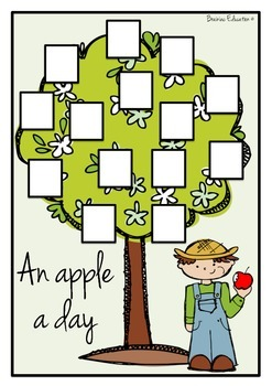 An Apple A Day - Blend and Diagraph Game