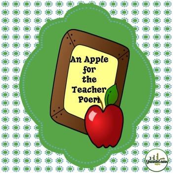 An Apple for the Teacher Poem